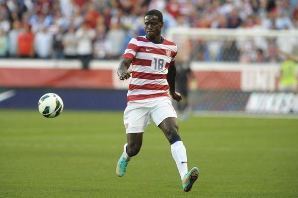 US National Team player Eddie Johnson.  Credit: Bill Barrett - ISIPhotos.com
