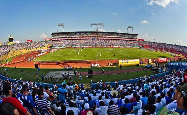 Estadio Olimpico in Honduras.  Credit: Michael Janosz - ISIPhotos.com