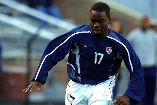 USMNT soccer player Brian West.