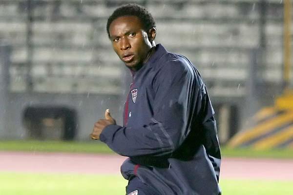 USMNT soccer player Jeff Cunningham.