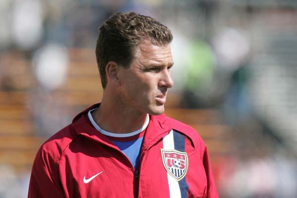 USMNT soccer player Juergen Sommer.