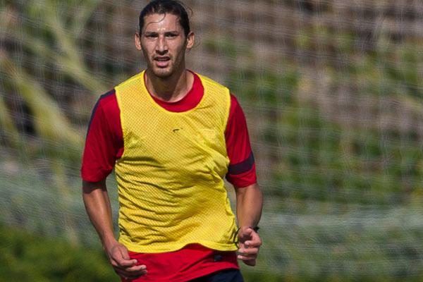 USMNT player Omar Gonzalez. Credit: Michael Janosz - ISIPhotos.com