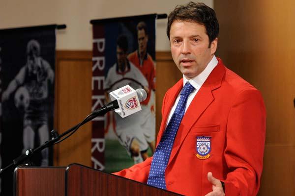 USMNT soccer player Preki Radosavljevic.