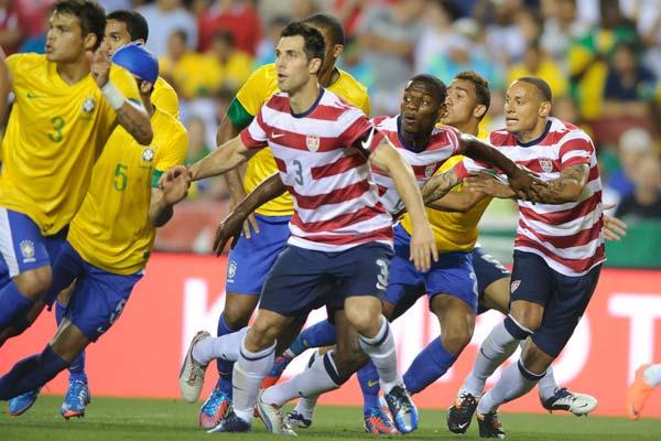 usmnt brazil soccer defense