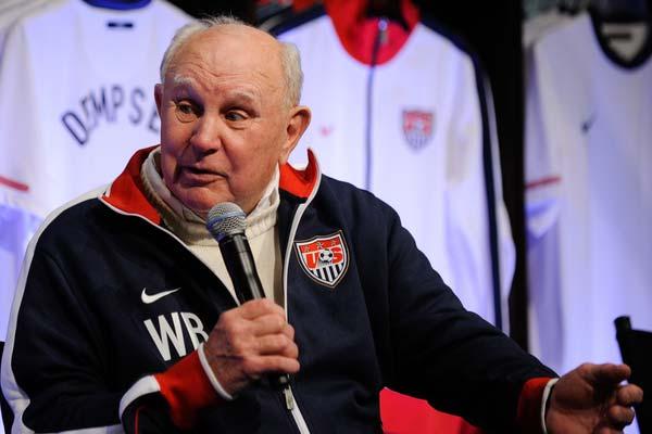 USMNT soccer player Walter Bahr.
