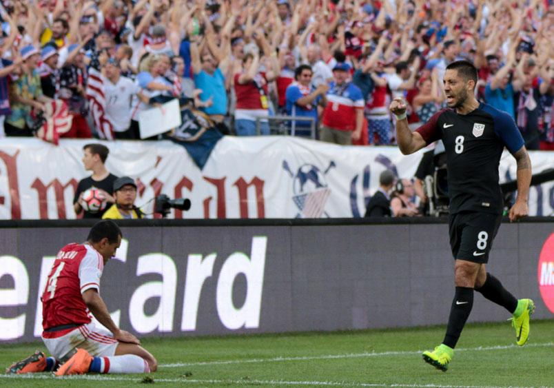 clint dempsey usmnt goal paraguay copa centenario june 2016