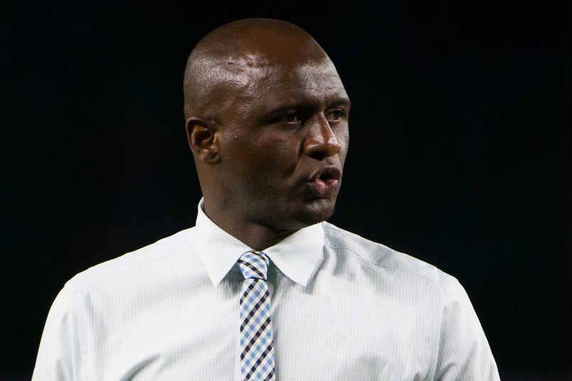 patrick vieira nycfc coach 2016 mls soccer season