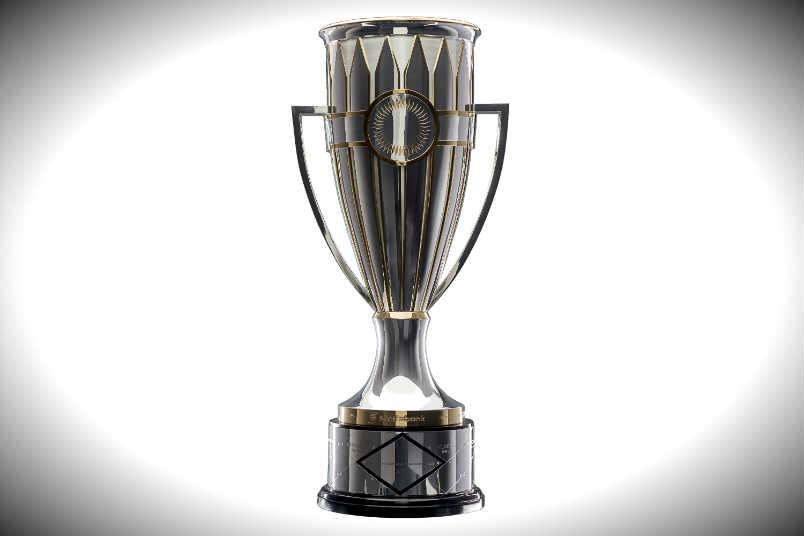 Concacaf Champions League trophy.