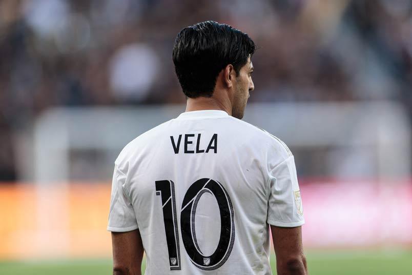 LAFC's Carlos Vela.