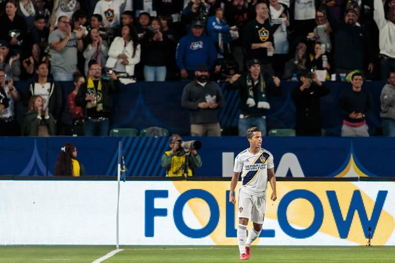 LA Galaxy and Mexico player Gio Dos Santos.