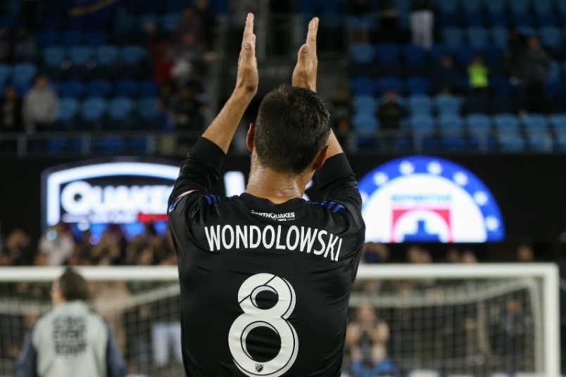 San Jose Earthquakes forward Chris Wondolowski