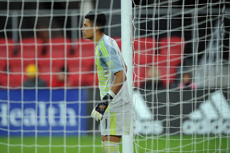FC Dallas goalkeeper Jesse Gonzalez