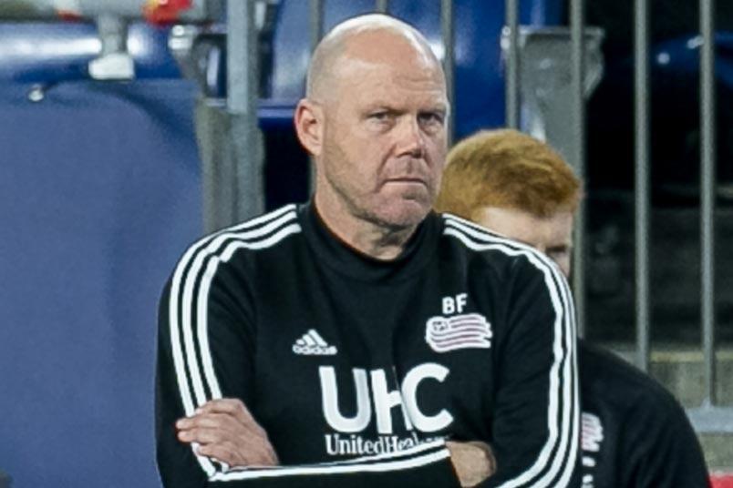 new england coach brad friedel