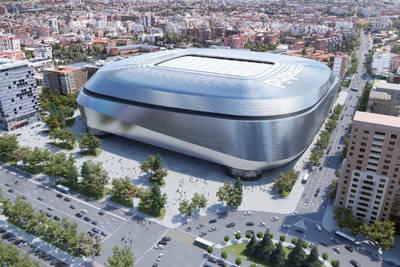 Real Madrid's stadium plan
