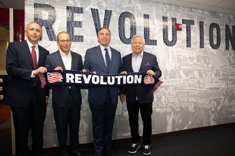 new england revolution leadership