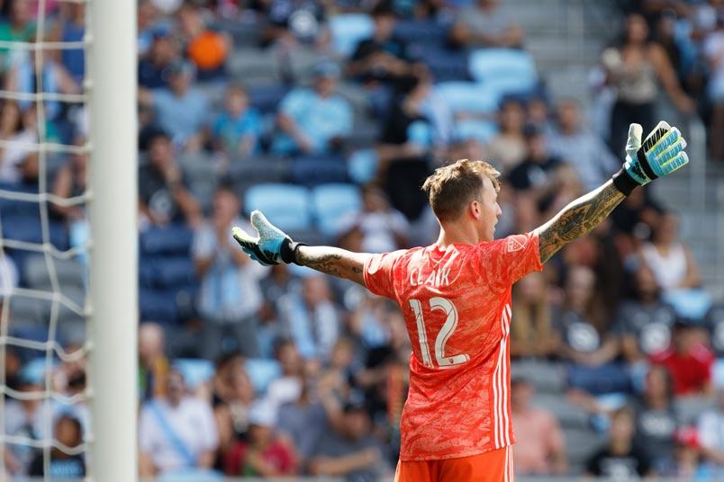 portland goalkeeper steve clark