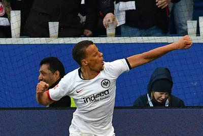 Chandler scores Eintracht winner