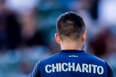 David Beckham and Chicharito Hernandez in MLS
