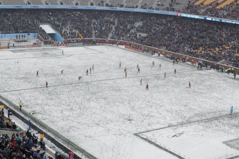 mls snow game