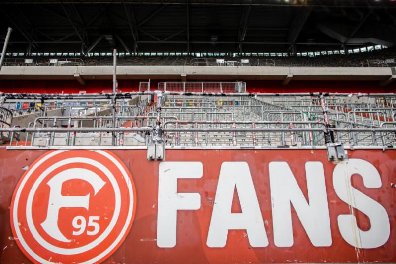 fortuna dusseldorf empty stand
