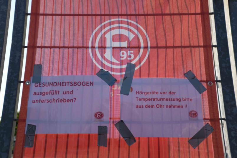 fortuna dusseldorf stadium entrance