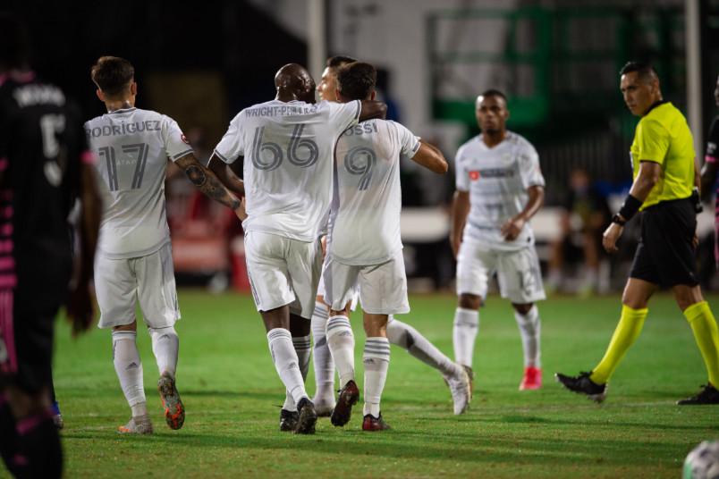lafc goal celebration at mls is back
