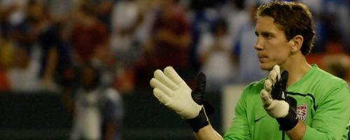 USMNT soccer player Troy Perkins.